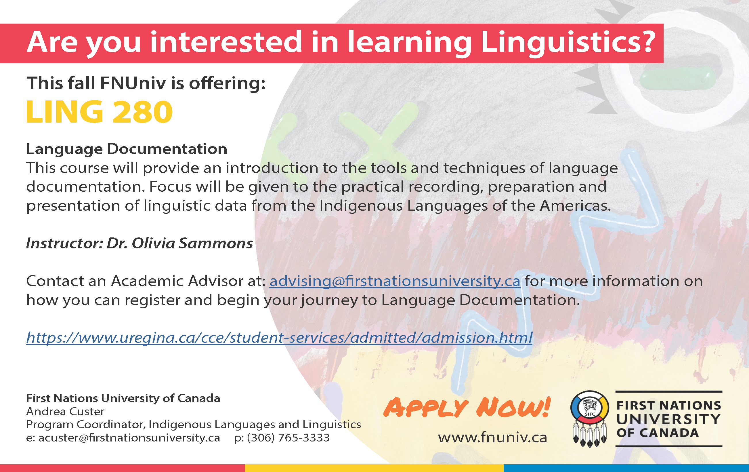 Languages Courses for Fall 2021 & Winter 2022